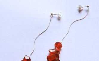 cristallini orecchino
