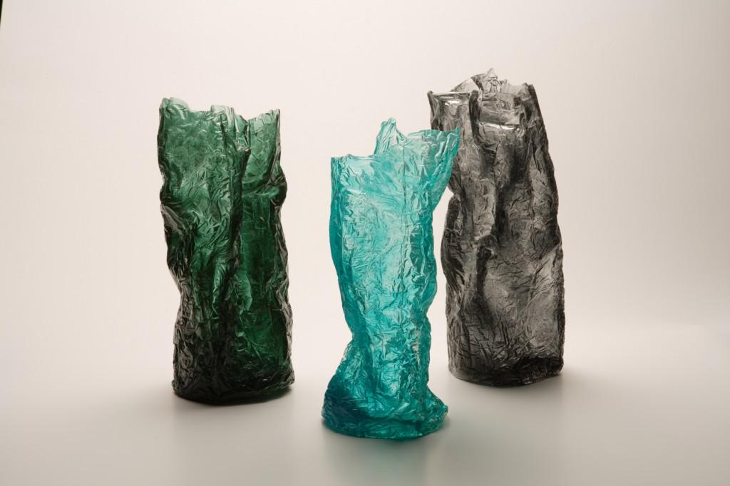 vaso informale trasparente